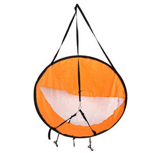 Kayak Wind Catcher (42.5 Inch Diameter) - Hooked On Saving