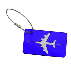 Classy Frequent Flyer Luggage Tags - Hooked On Saving