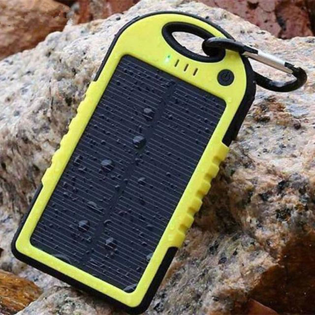Universal Waterproof Solar Power Bank