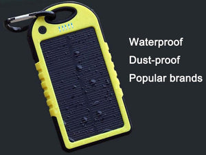 Universal Waterproof Solar Power Bank - Hooked On Saving
