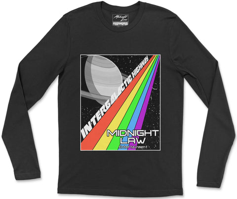 Long Sleeve T-Shirt S / Black Highway Long Sleeve T-Shirt
