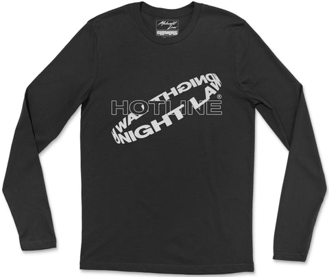 Long Sleeve T-Shirt S / Black Hotline Long Sleeve T-Shirt