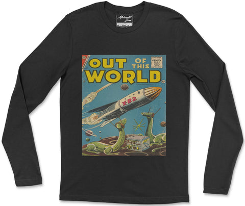 Long Sleeve T-Shirt S / Black Out of this World Long Sleeve T-Shirt