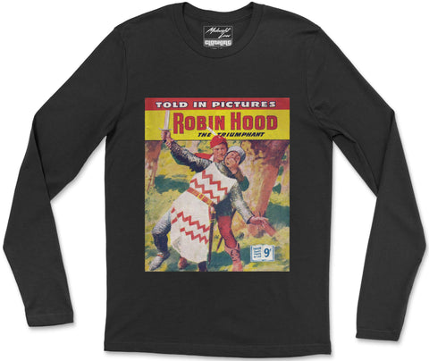 Long Sleeve T-Shirt S / Black Robinhood Long Sleeve T-Shirt