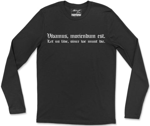 Long Sleeve T-Shirt S / Black Vivamus Long Sleeve T-Shirt