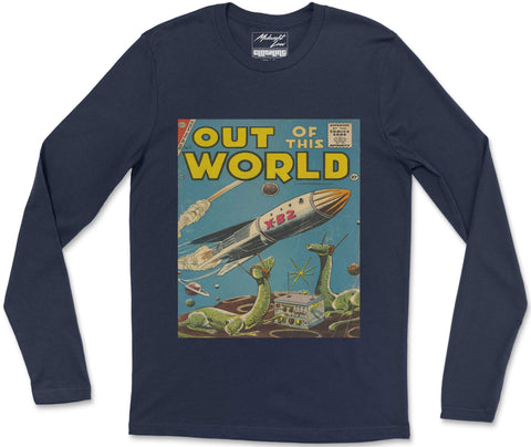 Long Sleeve T-Shirt S / Navy Out of this World Long Sleeve T-Shirt