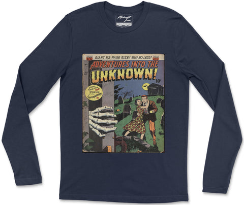 Long Sleeve T-Shirt S / Navy Unknown 13 Long Sleeve T-Shirt