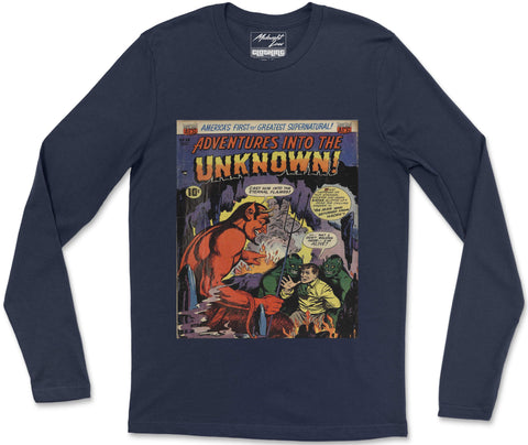 Long Sleeve T-Shirt S / Navy Unknown 8 Long Sleeve T-Shirt