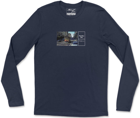 Long Sleeve T-Shirt S / Navy Vintage California Long Sleeve T-Shirt