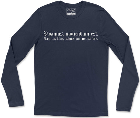 Long Sleeve T-Shirt S / Navy Vivamus Long Sleeve T-Shirt