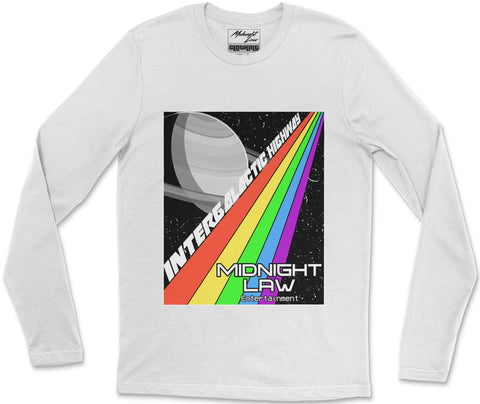 Long Sleeve T-Shirt S / White Highway Long Sleeve T-Shirt