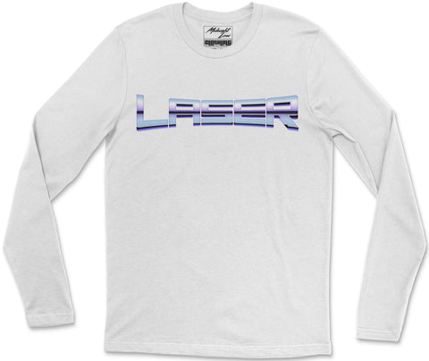 Long Sleeve T-Shirt S / White Laser Long Sleeve T-Shirt