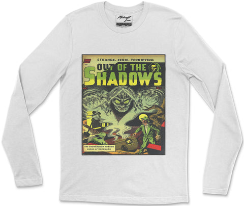 Long Sleeve T-Shirt S / White Out of Shadows Long Sleeve T-Shirt