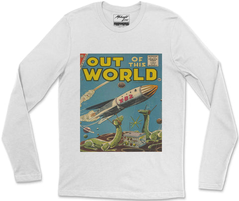 Long Sleeve T-Shirt S / White Out of this World Long Sleeve T-Shirt