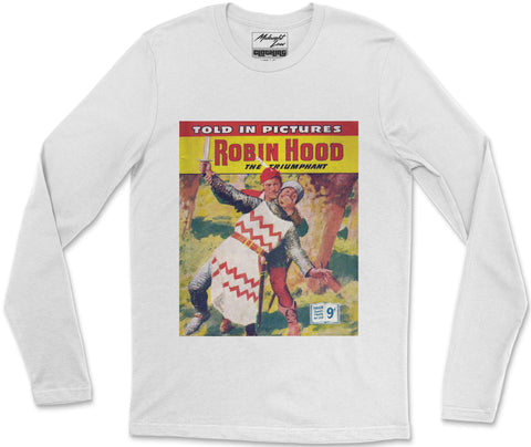 Long Sleeve T-Shirt S / White Robinhood Long Sleeve T-Shirt
