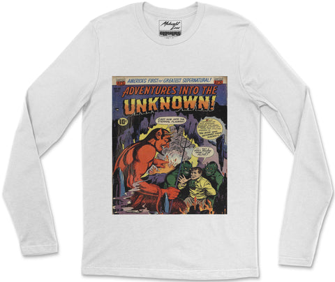 Long Sleeve T-Shirt S / White Unknown 8 Long Sleeve T-Shirt