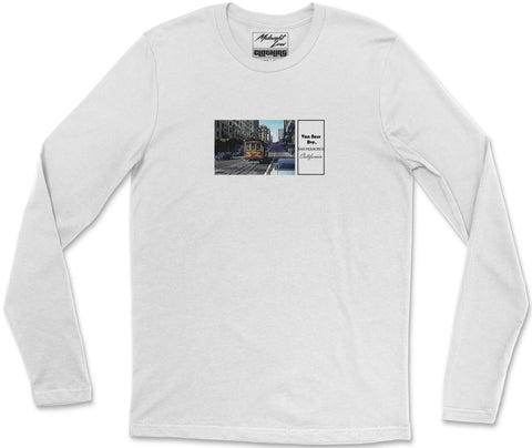 Long Sleeve T-Shirt S / White Vintage California Long Sleeve T-Shirt