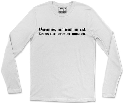 Long Sleeve T-Shirt S / White Vivamus Long Sleeve T-Shirt