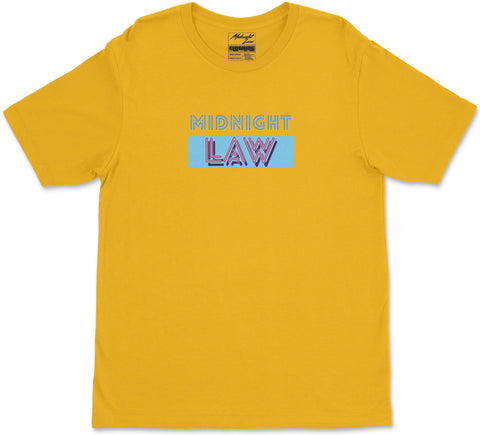 S / Yellow Vice T-Shirt Vice T-Shirt | Midnight LAW Clothing | Aesthetic Steetwear India