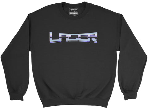 Sweatshirt S / Black Laser Sweatshirt