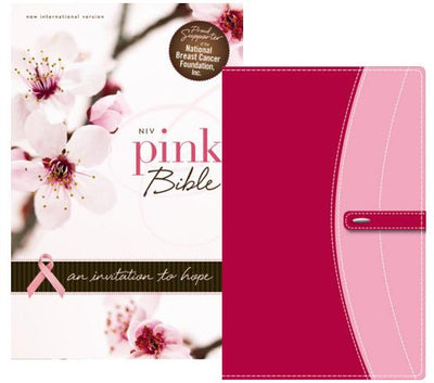 NIV, Pink Bible, Leathersoft, Pink: An Invitation to Hope