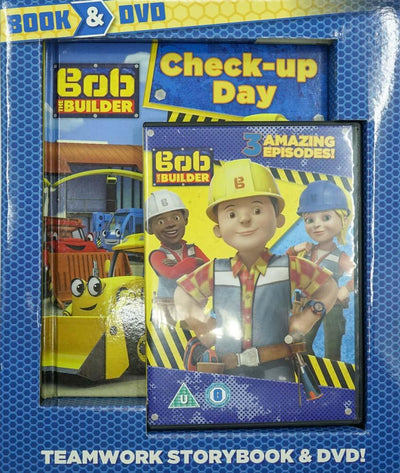 Bob The Builder Book and Dvd: Teamwork Storybook and Dvd!