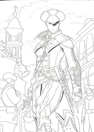 Assassin S Creed The Official Coloring Book Bookxcess Online