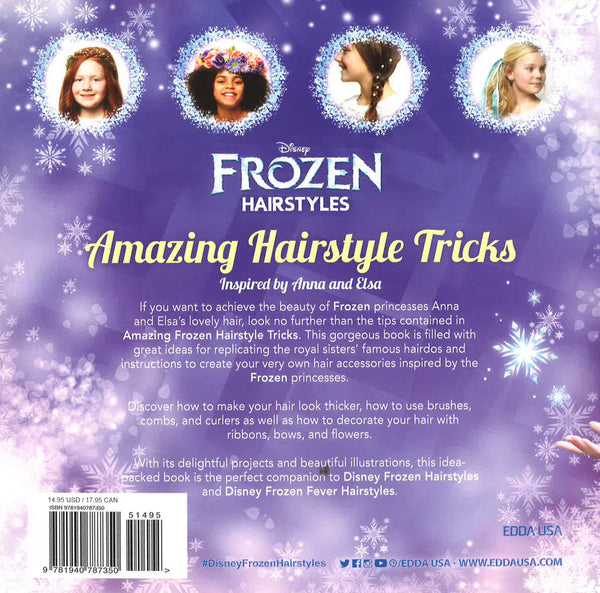 Frozen Amazing Hairstyle Tricks Inspired By Anna Elsa Bookxcess Online