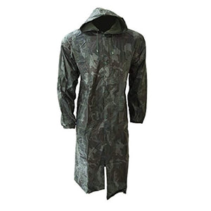 Universal Textiles Mens Waterproof Hooded Rain Coat