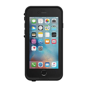 Lifeproof FRĒ Shot Series Waterproof Case for iPhone 6/6s (ONLY) - Retail Packaging - Night LITE (Black/Lime)