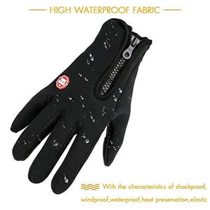 AOFU Touch Screen Gloves, Winter Warm Thermal Gloves, Gel Men & Women Gloves