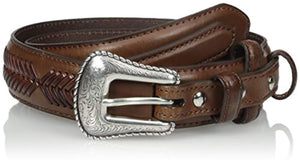Nocona Belt Co. Men's Top Hand Brown Ranger