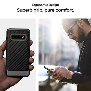 Spigen Neo Hybrid Designed for Samsung Galaxy S10 Plus Case (2019) - Gunmetal