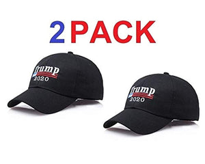 Make America Great Again Hat [2 Pack], Donald Trump USA MAGA Cap Adjustable Baseball Hat