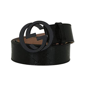 Men's fashion casual belt - removable buckle