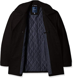 Nautica Men's Big and Tall Wool Peacoat