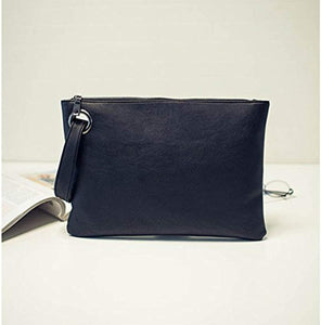 Aladin Oversized Clutch Bag Purse, Womens Large leather Evening Wristlet Handbag