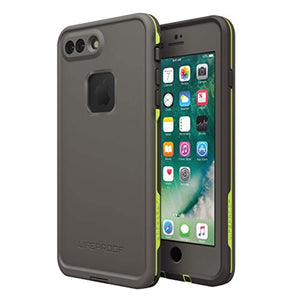 LifeProof 77-53997 Lifeproof FRĒ SERIES Waterproof Case for iPhone 7 Plus (ONLY) - Retail Packaging - SECOND WIND (DARK GREY/SLATE GREY/LIME)