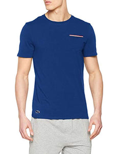 Lacoste Men's French Flag Pocket Lounge Top