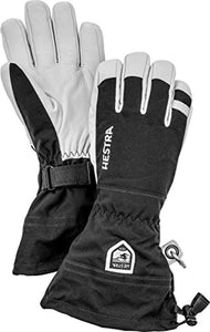 Hestra Ski Gloves: Army Leather Heli Leather Cold Weather Powder Glove