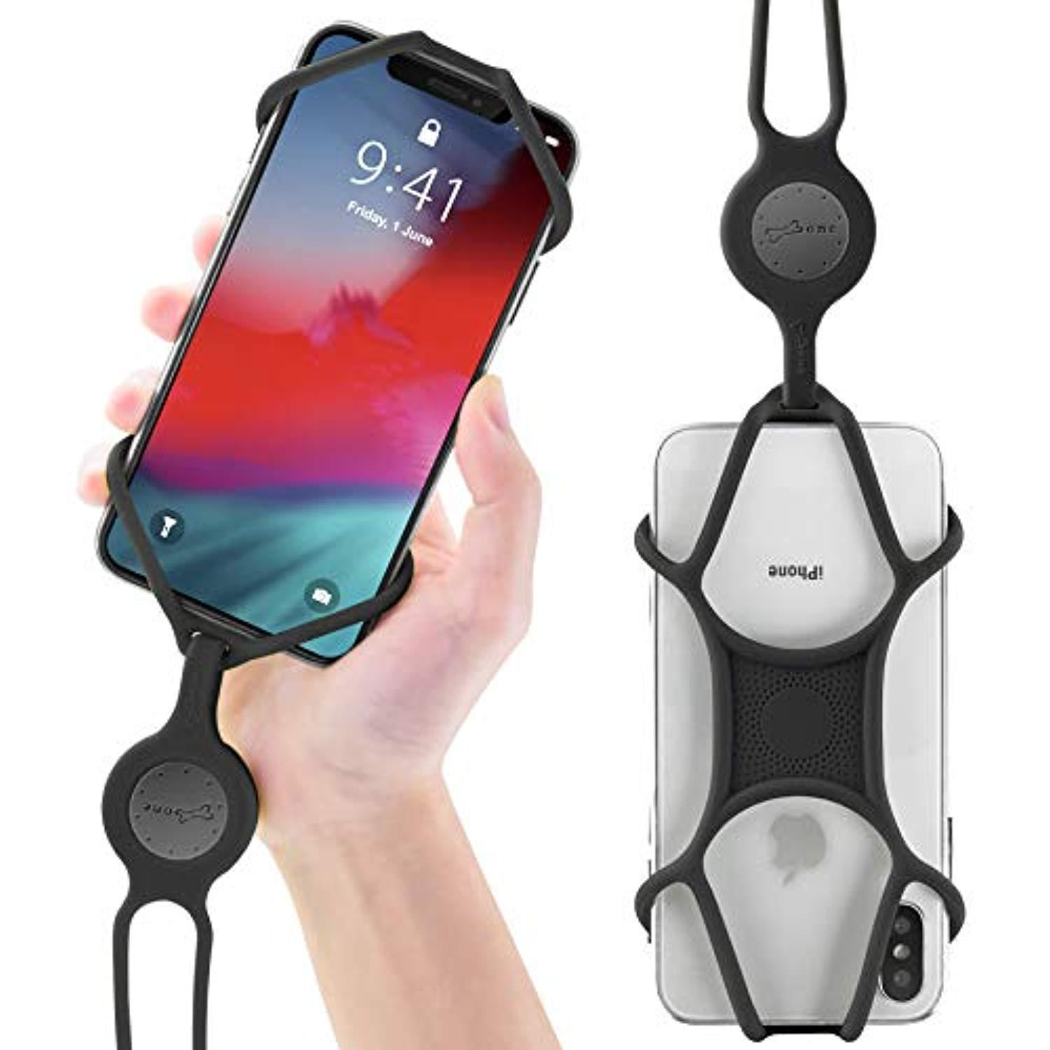 Galaxy Pixel Universal Phone Case Holder Silicone Necklace Strap for iPhone Moto /& More Cell Phone Lanyard Note
