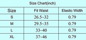 GRACE KARIN Women Vintage Elastic Stretchy Skinny Thin Waist Cinch Belt