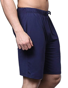 GYS Men's Bamboo Pajama Bottom Lounge Shorts