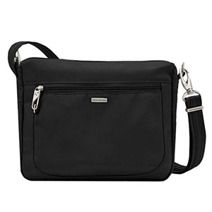 Travelon Anti-Theft Classic Small E/w Crossbody Bag, Black