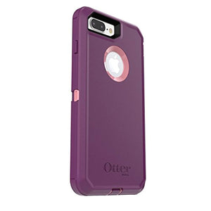 OtterBox DEFENDER SERIES Case for iPhone 7 Plus (ONLY) - Retail Packaging - VINYASA (ROSMARINE/PLUM HAZE)