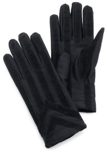 Isotoner Men's Stretch Classics Fleece Lined Gloves