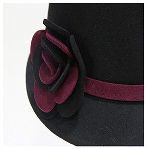 Maitose Trade; Women's Bow Wool Felt Bucket Hat