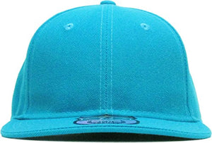 KBETHOS The Real Original Fitted Flat-Bill Hats True-Fit, 9 Sizes & 20 Colors