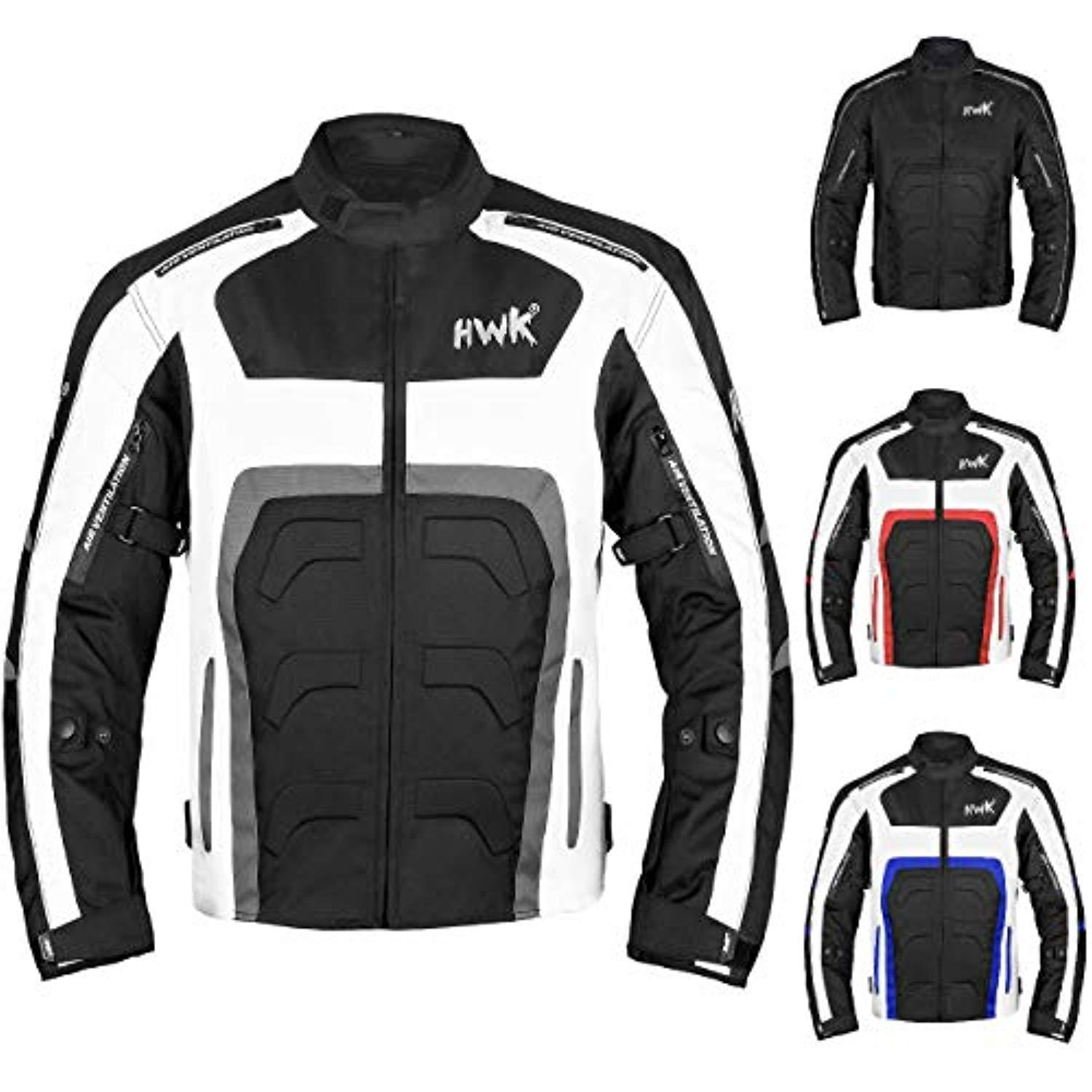 Fluorescent, Large Mens Motorbike Motorcycle Cordura Fabric CE Approved Armoured Waterproof Textile Jacket