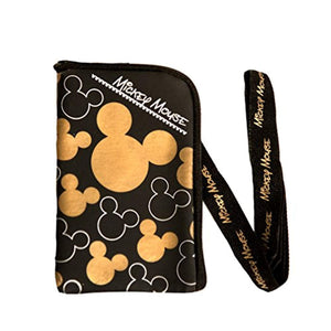 Disney Mickey Mouse Lanyard 2 Pack Gold and Silver